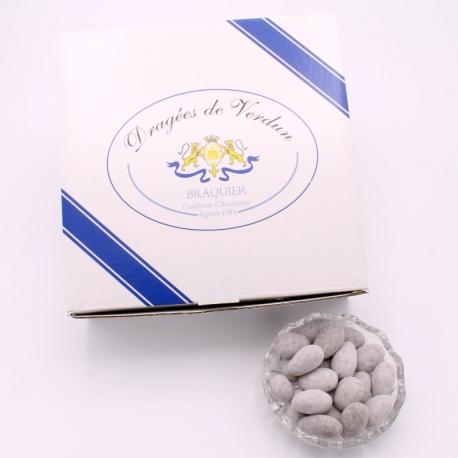 Icing sugar Léontine, Cardboard-box 1 kg - Dragées Braquier, confiseur chocolatier à Verdun