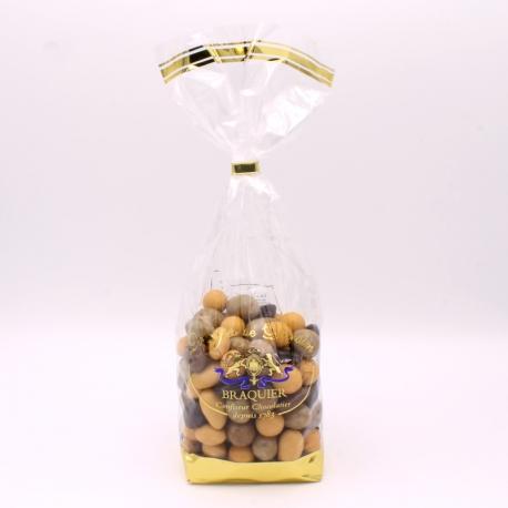 Chocolate, Confectioner-bag 500 g - Dragées Braquier, confiseur chocolatier à Verdun