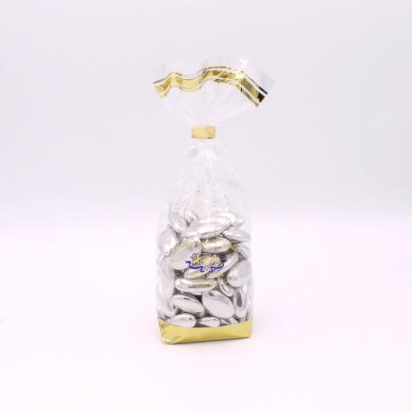 Fine Argent, Confectioner-bag 200 g - Dragées Braquier, confiseur chocolatier à Verdun