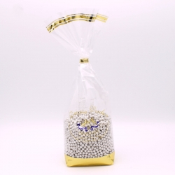 Perles argent, Sachet de 500 g - Dragées Braquier, confiseur chocolatier à Verdun