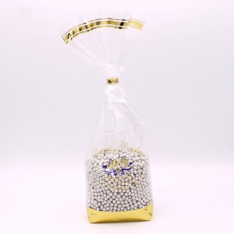 Silver Pearls, Confectioner-bag 500 g - Dragées Braquier, confiseur chocolatier à Verdun