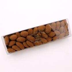 Réglette Léontine cacao de 150gr - Dragées Braquier, confiseur chocolatier à Verdun