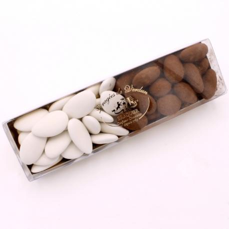Réglette n°21 - Léon Braquier et Léontine - Dragées Braquier, confiseur chocolatier à Verdun