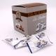 Léontine Flowpack, Cardboard-box 50 pieces - Dragées Braquier, confiseur chocolatier à Verdun