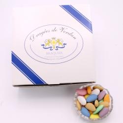 Duchesse, Cardboard-box 1 kg - Dragées Braquier, confiseur chocolatier à Verdun