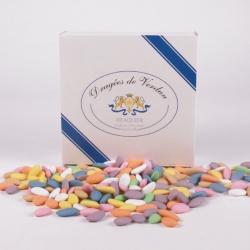 Princesse, Cardboard-box 1 kg - Dragées Braquier, confiseur chocolatier à Verdun