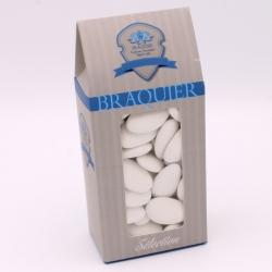 Léon Braquier, Cardboard-case 250 g - Dragées Braquier, confiseur chocolatier à Verdun