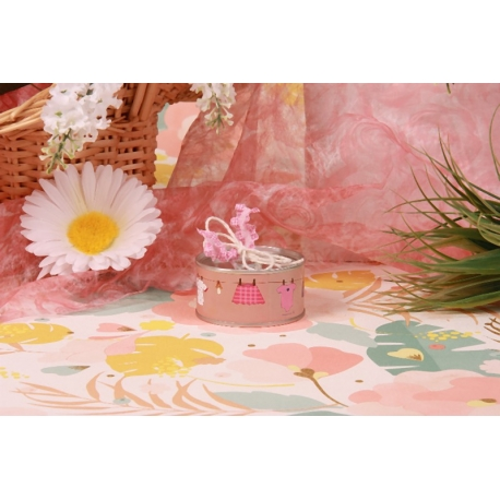 Conserve corde à linge fille - Boîtes à dragées - Dragées Braquier