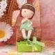 Angie sur Nina verte - Boîtes à dragées - Dragées Braquier