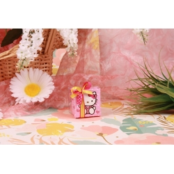 Boîte carrée Hello Kitty - Boîtes à dragées - Dragées Braquier