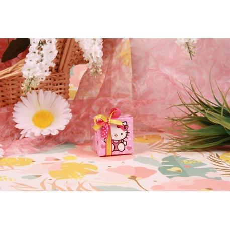 Kitty boîte carrée - Boîtes à dragées - Dragées Braquier