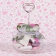 Pot et rose gousset - Boîtes à dragées - Dragées Braquier