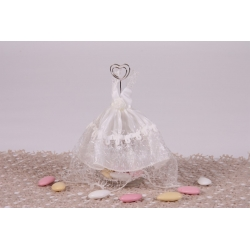 Robe de marié ivoire - Boîtes à dragées - Dragées Braquier
