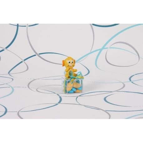 Plouf sur boite carrée - Boîtes à dragées - Dragées Braquier
