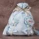 Grand pochon fleur - Boîtes à dragées - Dragées Braquier