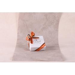 Caritas blanche - Boîtes à dragées - Dragées Braquier