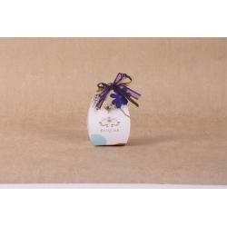 Fleur mauve sur corail - Boîtes à dragées - Dragées Braquier