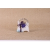 Fleur mauve sur sixties - Boîtes à dragées - Dragées Braquier