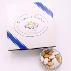 Verdunette, Cardboard-box 1 kg - Dragées Braquier, confiseur chocolatier à Verdun