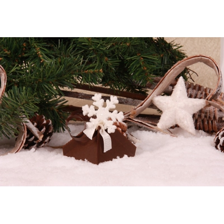 Flocon sur florette chocolat