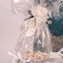Glass candy boxes
