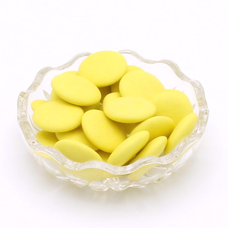 Disques chocolat citron