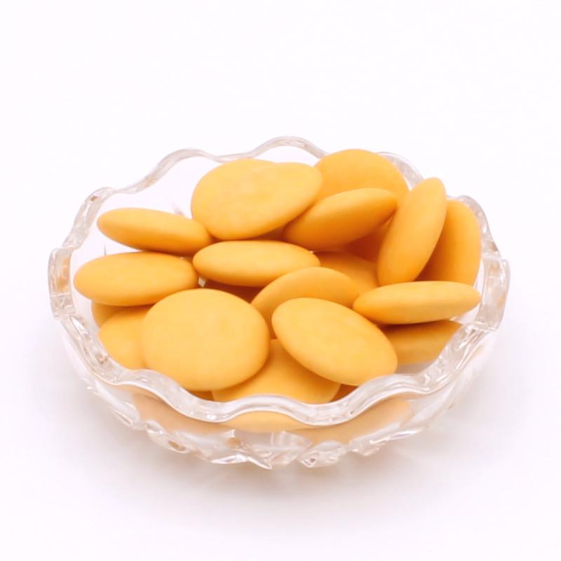 Disques chocolat oranges