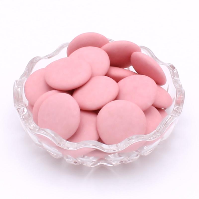 Disque chocolat rose