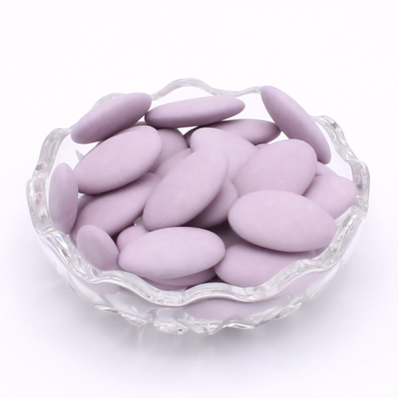 Dragées chocolat lilas