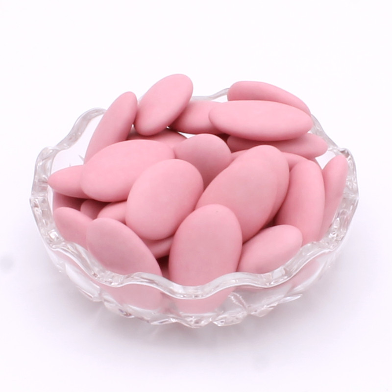 Dragées chocolat roses
