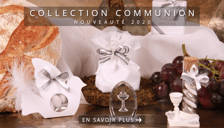Collection Communion Boîte à dragées
