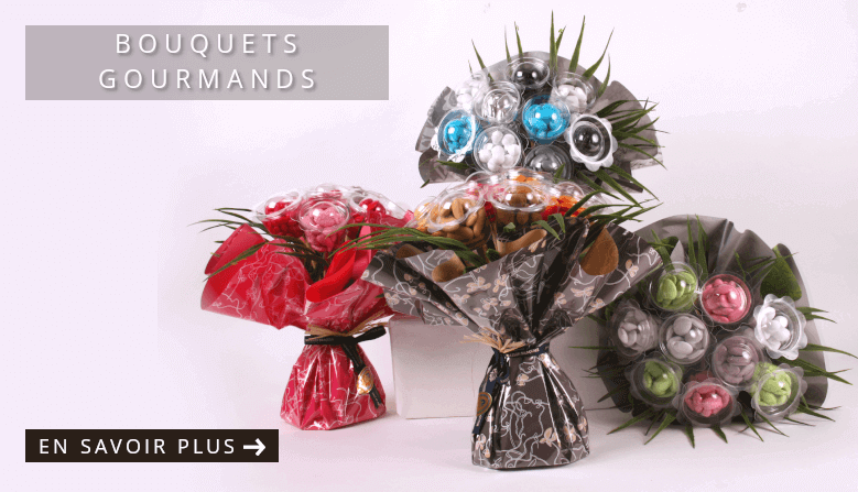 Bouquets gourmands